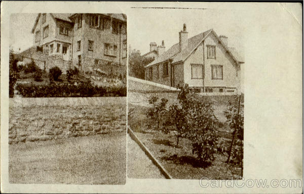 Two Views of a House England