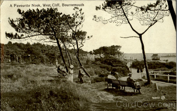 A Favourlte Nook, West Cliff Bournemouth England
