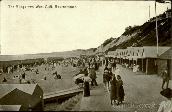 The Bungalows, West Cliff Bournemouth England