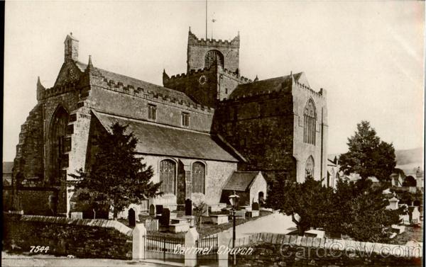 Cartmel Church England