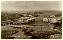 The Harbour, Ballintoy Postcard