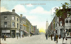 Duke Street,Barrow-In-Furness. Postcard
