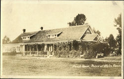 Ranch House,Prince of Wales Ranch. Postcard