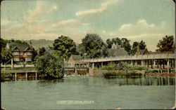 View Of Streatley Postcard