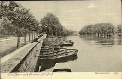 The River and Jerrace Postcard