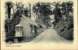 View Near Durham Postcard
