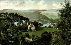 Spite Hall,Rudyard Lake. Postcard