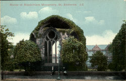 Ruins of Blackfriars Monastery, St.Andrews Postcard