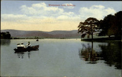 Windermere Lake Postcard