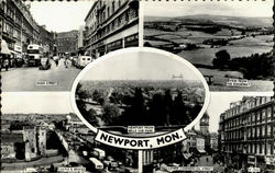 Newport From Belle Vue Park
