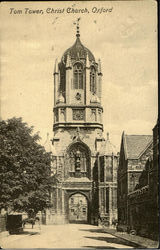 Tom Tower,Christ Church Postcard