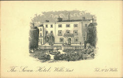 The Swan House, Somerset Postcard