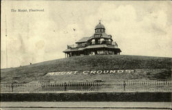 The Mount,Fleetwood Postcard