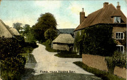 Ford,Nar Herne Bay. Postcard