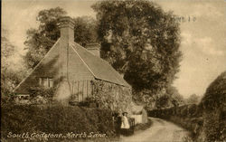 South Godstone,Hart's Lane Postcard
