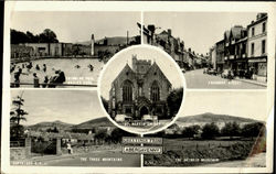 Greetings From Abergavenny Postcard