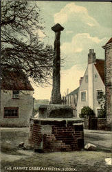 The Market Cross Alfriston Postcard