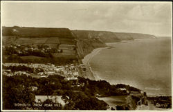Sidmouth From Reak Hill