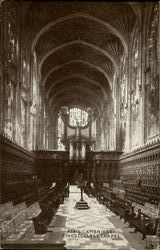Cambridge King'S Colleg Chapel Postcard