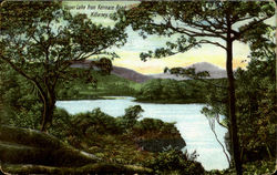 Upper Lake from Kenmare Roaad
