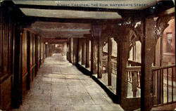 Chester:The Row,Watergate Street
