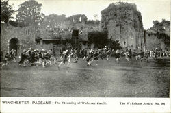 WINCHESTER PAGENT:The Storming of Wolcesey Castle