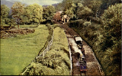 Eskadale Narrow Gauge Railway Postcard