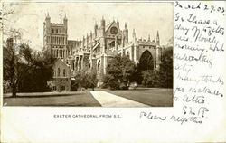 Exeter Cathedral From S.E