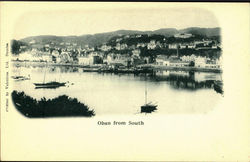 Oban from South