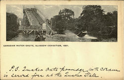 Canadian Water Chute,Glasgow Exhibition,1901