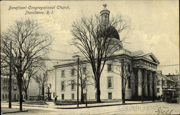 Beneficent Congregational Church Providence Rhode Island