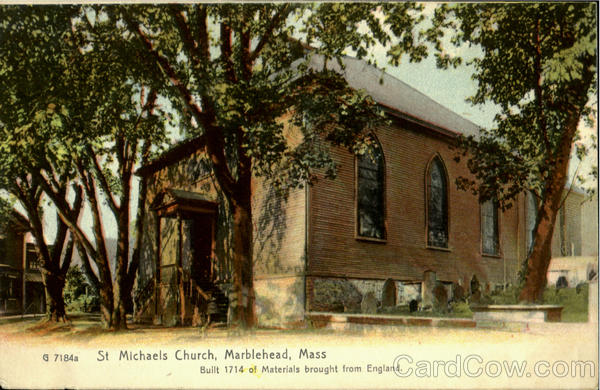 St. Michael's Church Marblehead Massachusetts
