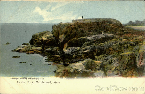 Castle Rock From Hotel Potter Marblehead Massachusetts