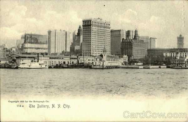 The Battery New York City