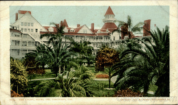 The Court Hotel Del Coronado California