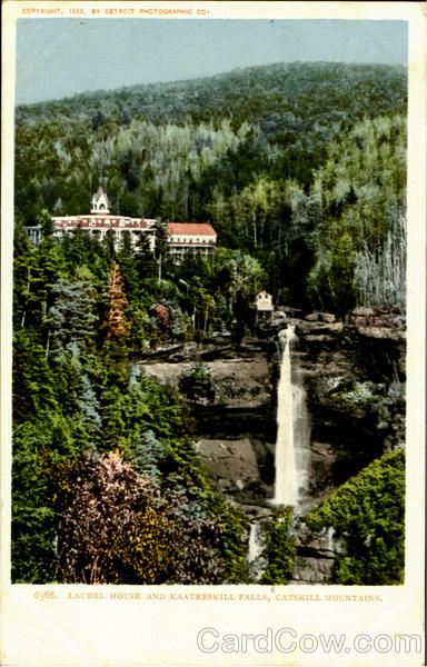 Laurel House And Kaaterskill Falls Catskill Mountains New York