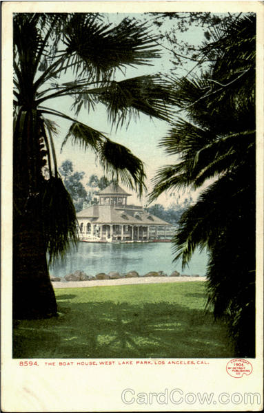 The Boat House, East Lake Park Los Angeles California