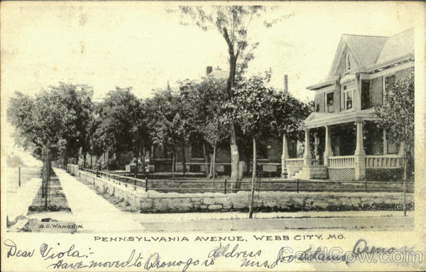 Pennsylvania Avenue Webb City Missouri