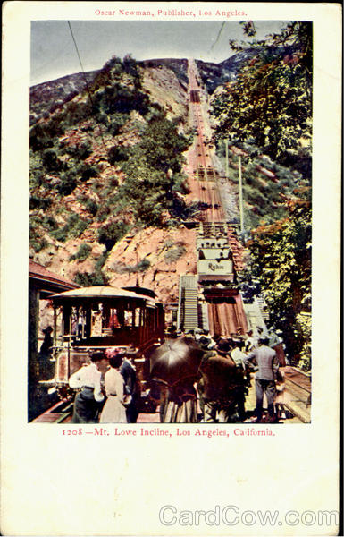 Mt. Lowe Incline Los Angeles California