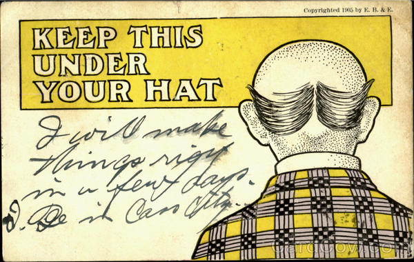 Keep This Under Your Hat Comic, Funny Barbers