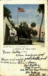 A Nephew Of Uncle Sam's Postcard