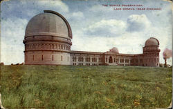 The Yerkes Observatory Postcard