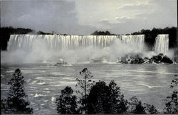 American Falls From Canadian Shore