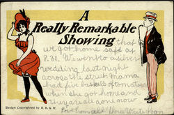 A Really Remarkable Showing Postcard