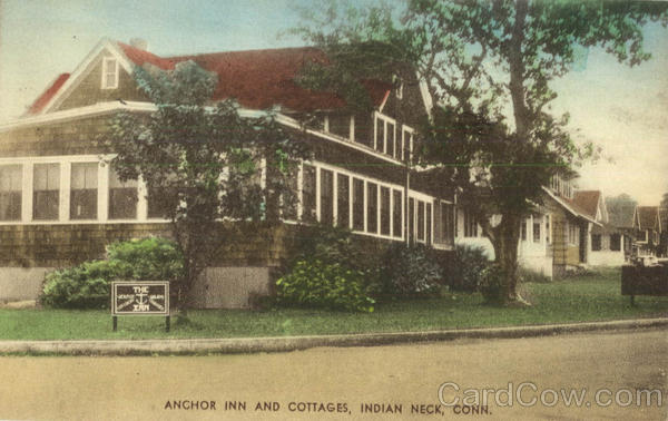 Anchor Inn And Cottages Indian Neck Connecticut