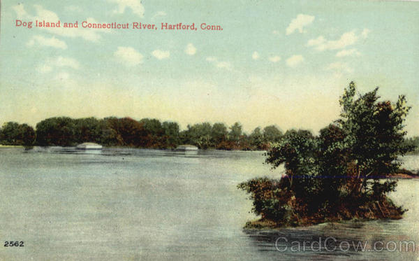Dog Island and Connecticut River Hartford