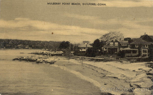 Mulberry Point Beach Guilford Connecticut