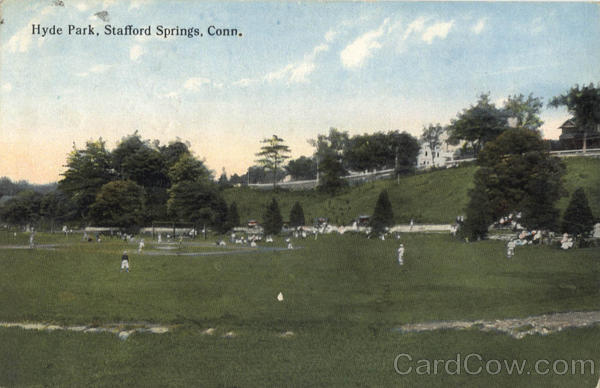 Hyde Park Stafford Springs Connecticut