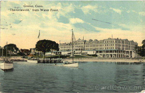 The Griswold from Water Front Groton Connecticut