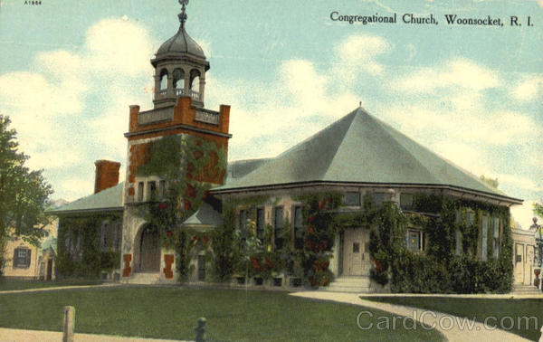 Congregational Church Woonsocket Rhode Island